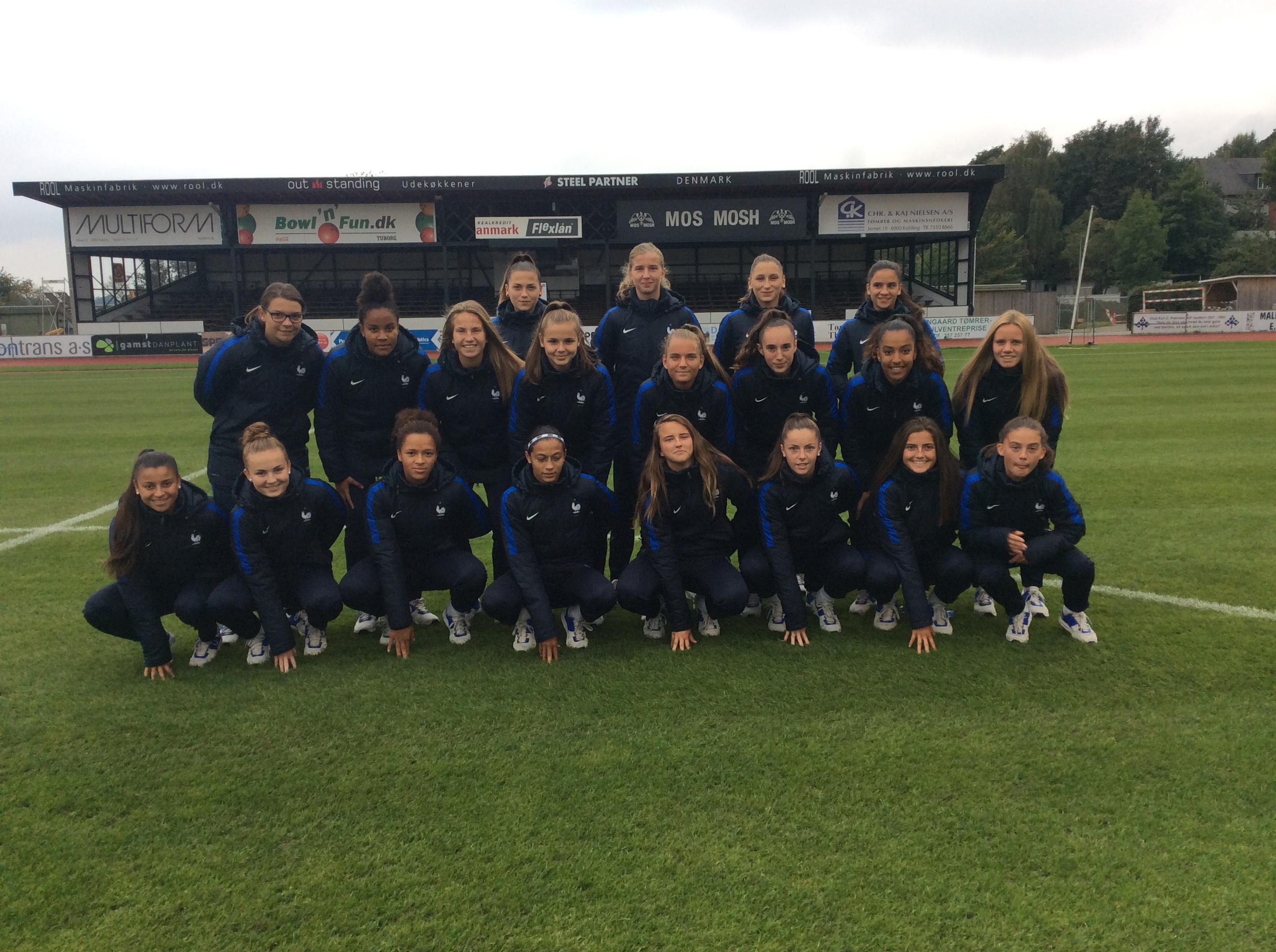 Les Françaises sont au Danemark pour le tour de qualification
