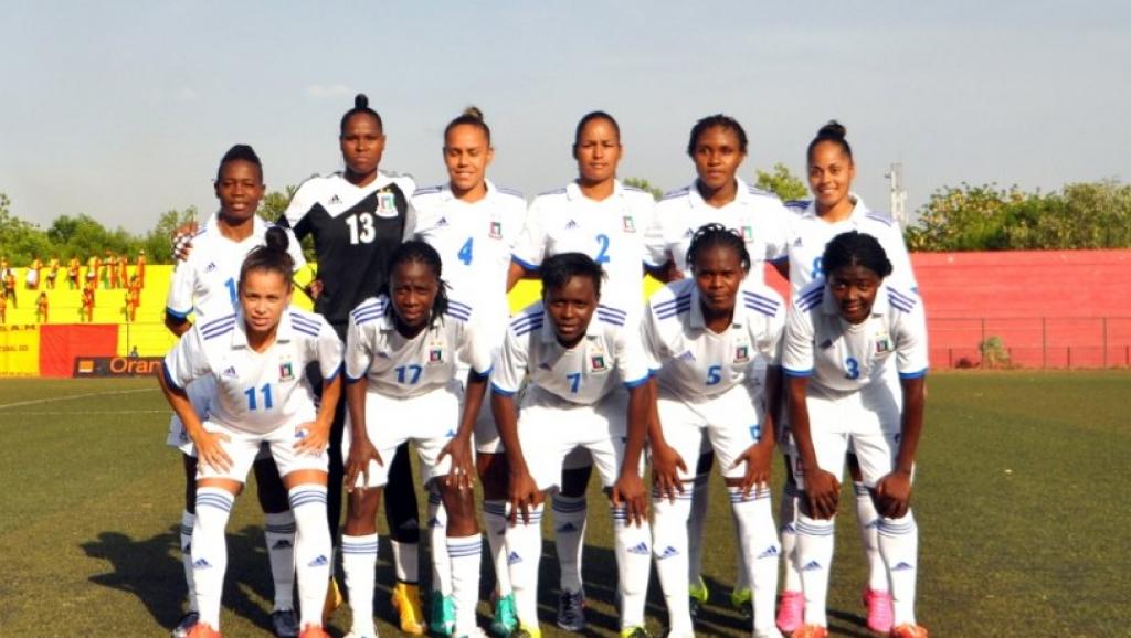 L'équipe féminine de Guinée équatoriale durant les éliminatoires de la CAN 2016
