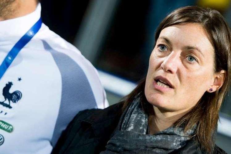"""Bleues - Corinne DIACRE : """"On est restées solides de manière collective"""""""