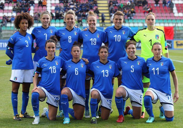 FRANCE - ITALIE - La sélection italienne
