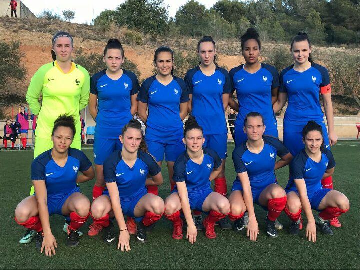 U17 - La FRANCE bat l'ALLEMAGNE