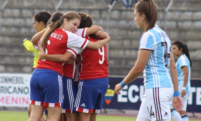 Les Paraguayennes réalisent le sans-faute