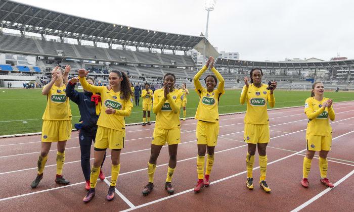 Les Parisiennes s'imposent à Charléty (photo PSG.fr)