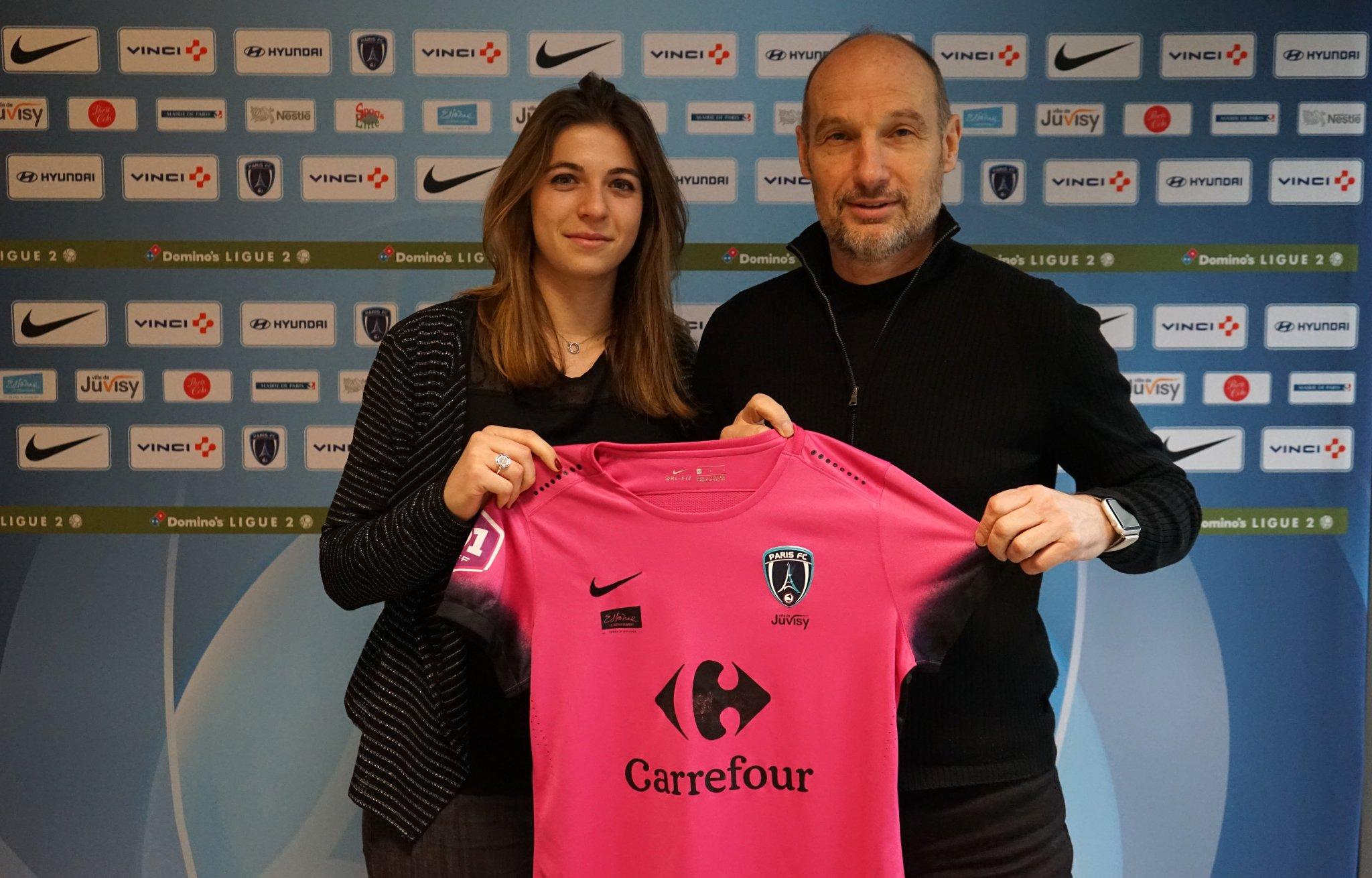 Pecharman au Paris FC (photo club)