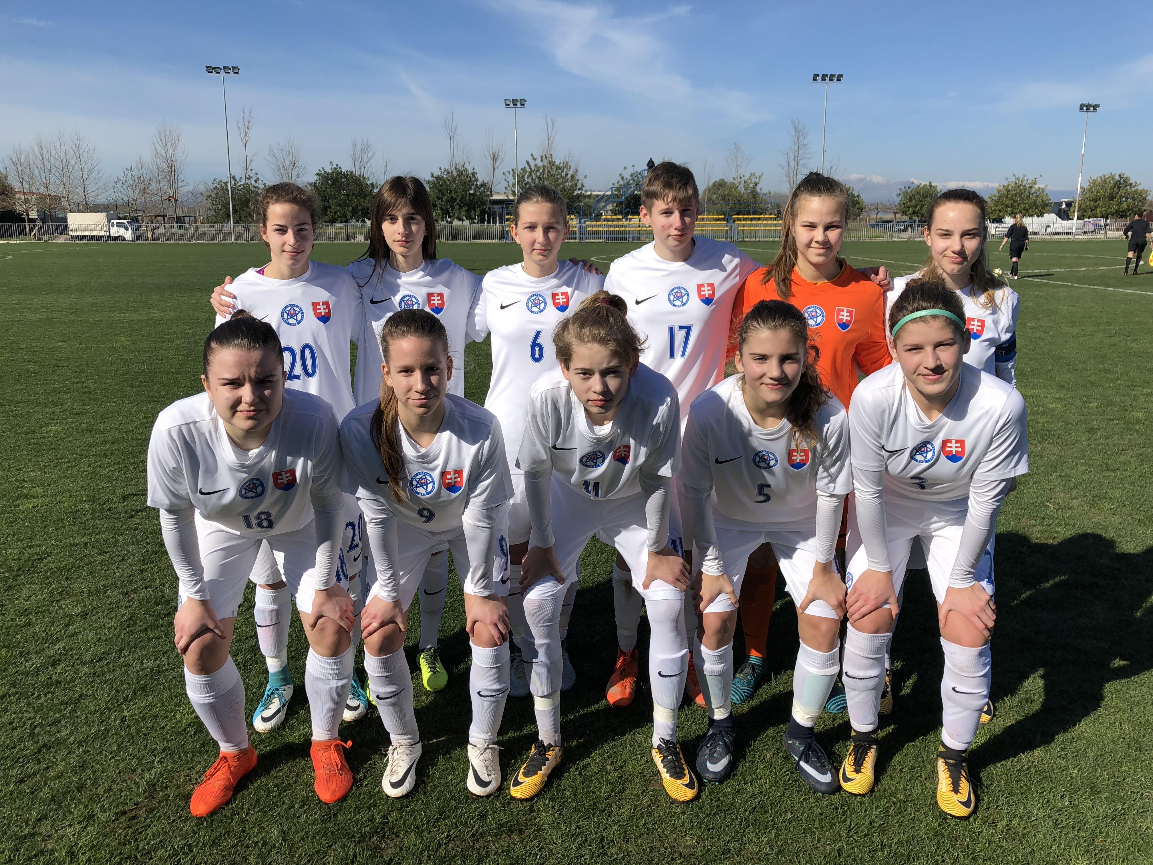 U16 - Trois sur trois au tournoi de développement UEFA