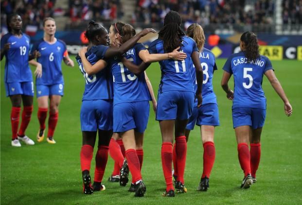 Après la SheBelieves Cup, les Bleues joueront deux matchs en France (photo FFF)