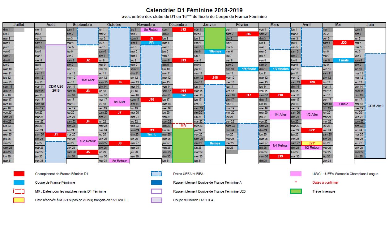 #D1F - Une saison 2018-2019 du 25 août au 4 mai