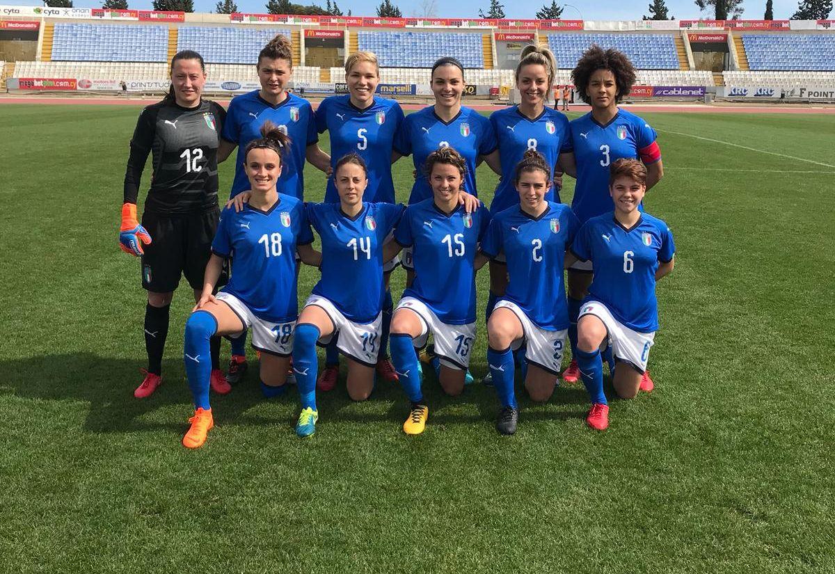 #CyprusWomensCup - J2 : L'ITALIE en pleine forme !