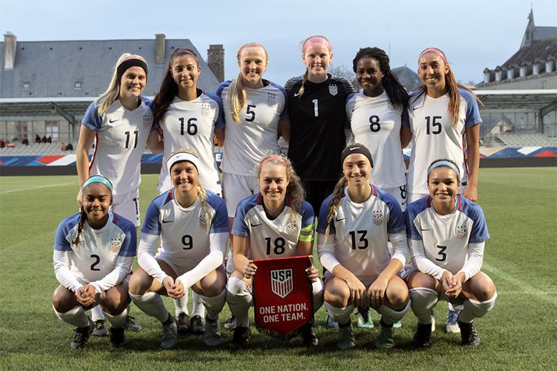 U20 - Défaite pour le premier duel face aux USA