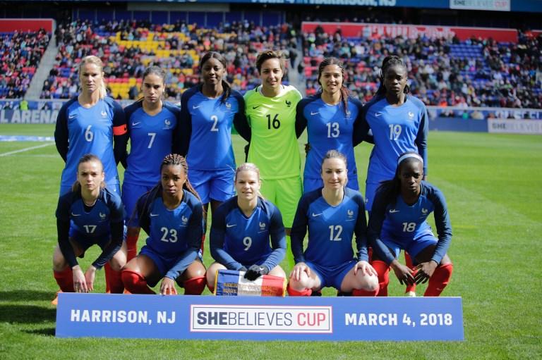 #SheBelievesCup - Bonne réaction tricolore face au n°1 mondial