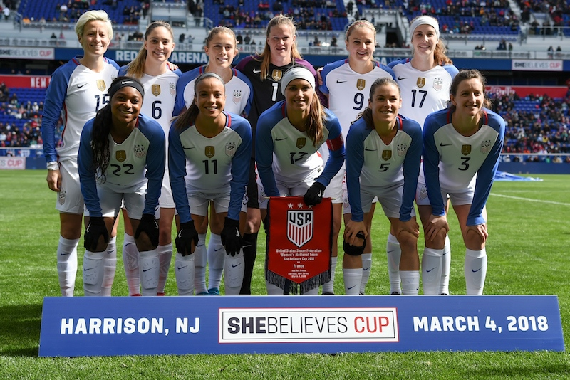 #SheBelievesCup - Bonne réaction tricolore face au n°1 mondial