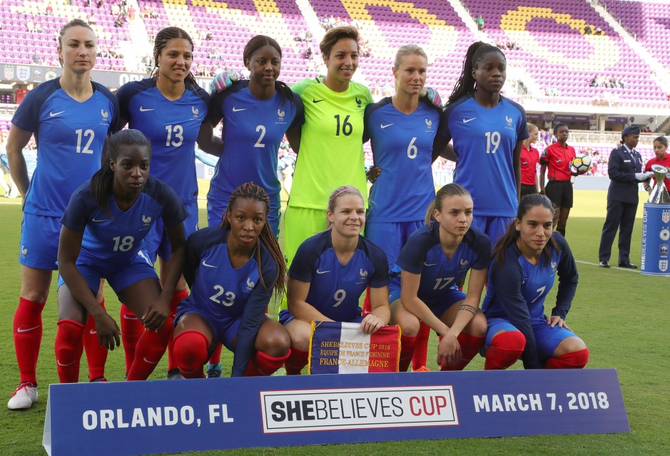 #SheBelievesCup - Succès historique contre l'Allemagne
