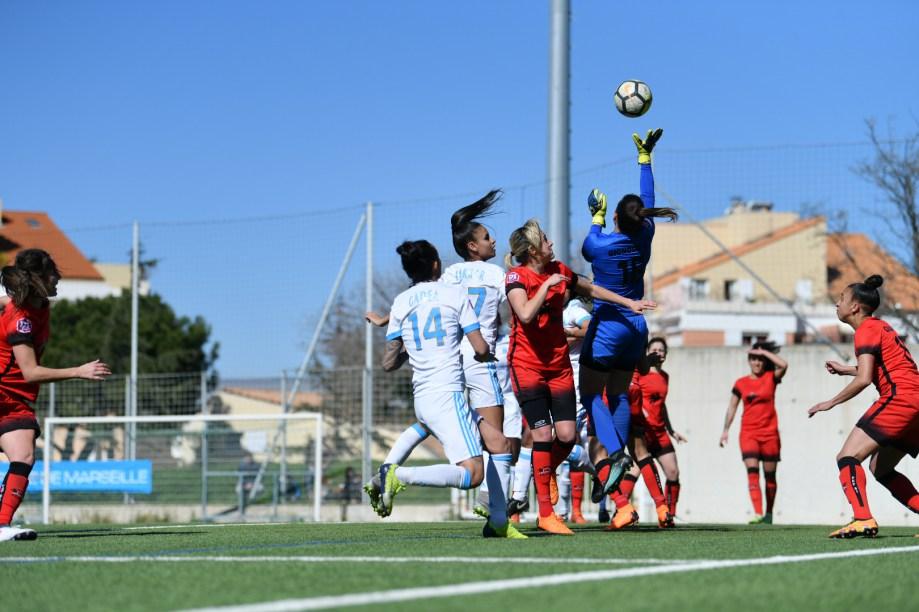 Les Marseillaises restent 12e avec ce revers à domicile (photo OM.net)