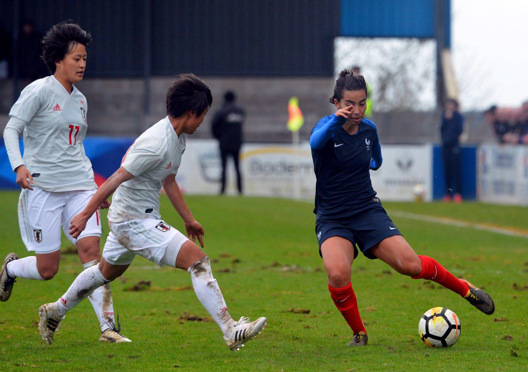 Annahita Le Loc'h Zamanian jouait dans un milieu en triangle (photo Nicolas Le Creac'h/Facebook Ligue de Bretagne)
