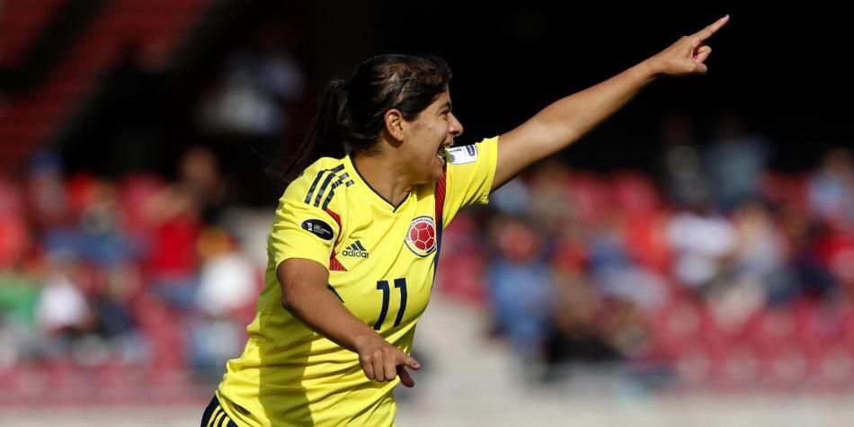 Quadruplé pour Catalina Usme (photo CONMEBOL)