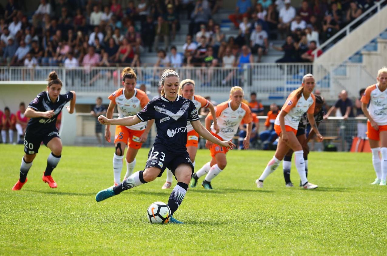 Lardez lors du penalty obtenu par Bordeaux (photo FCGB)