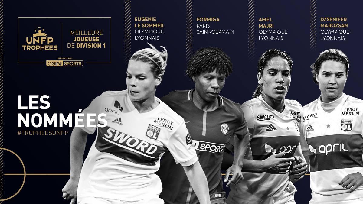 #D1F - L'UNFP dévoile les nommées pour la meilleure joueuse et le meilleur espoir de la saison