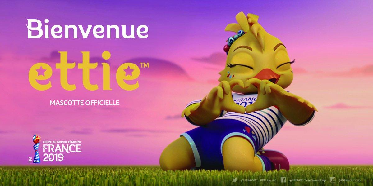 Coloriage Foot Coupe Du Monde 2019.Coupe Du Monde 2019 Ettie La Mascotte Devoilee