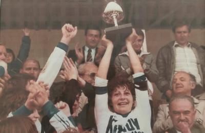 Constantin lors du titre de 1984