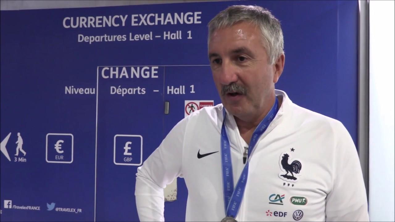 U20 - La Liste pour la COUPE DU MONDE