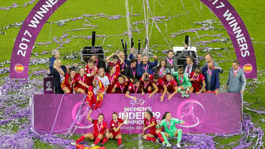 L'Espagne tenante du titre avec la France et la Suisse dans le groupe A (photo UEFA)