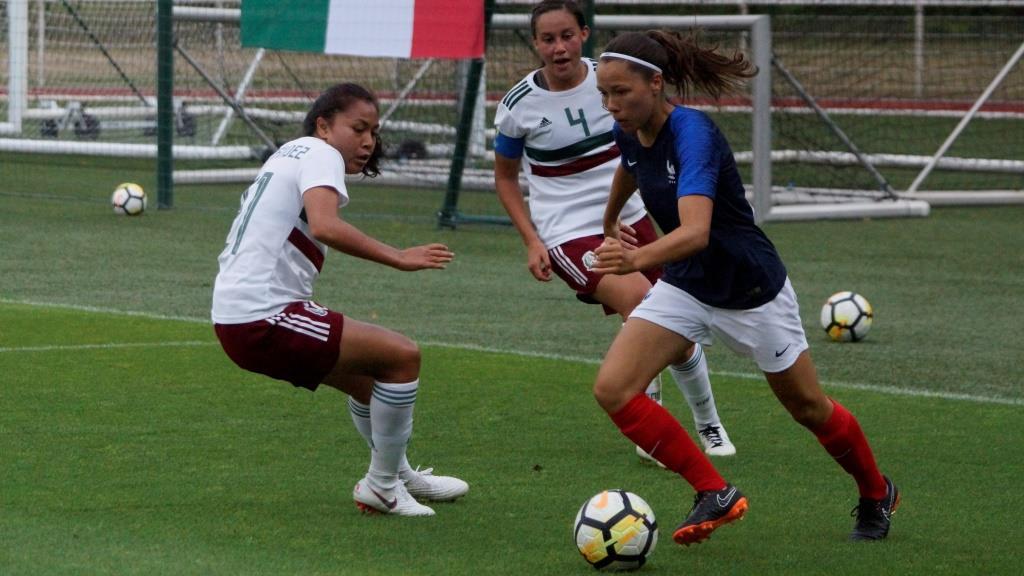 U20 - La FRANCE dispose du MEXIQUE en seconde période