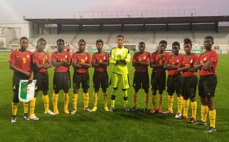 Le Ghana lors de son premier match de la phase de qualification