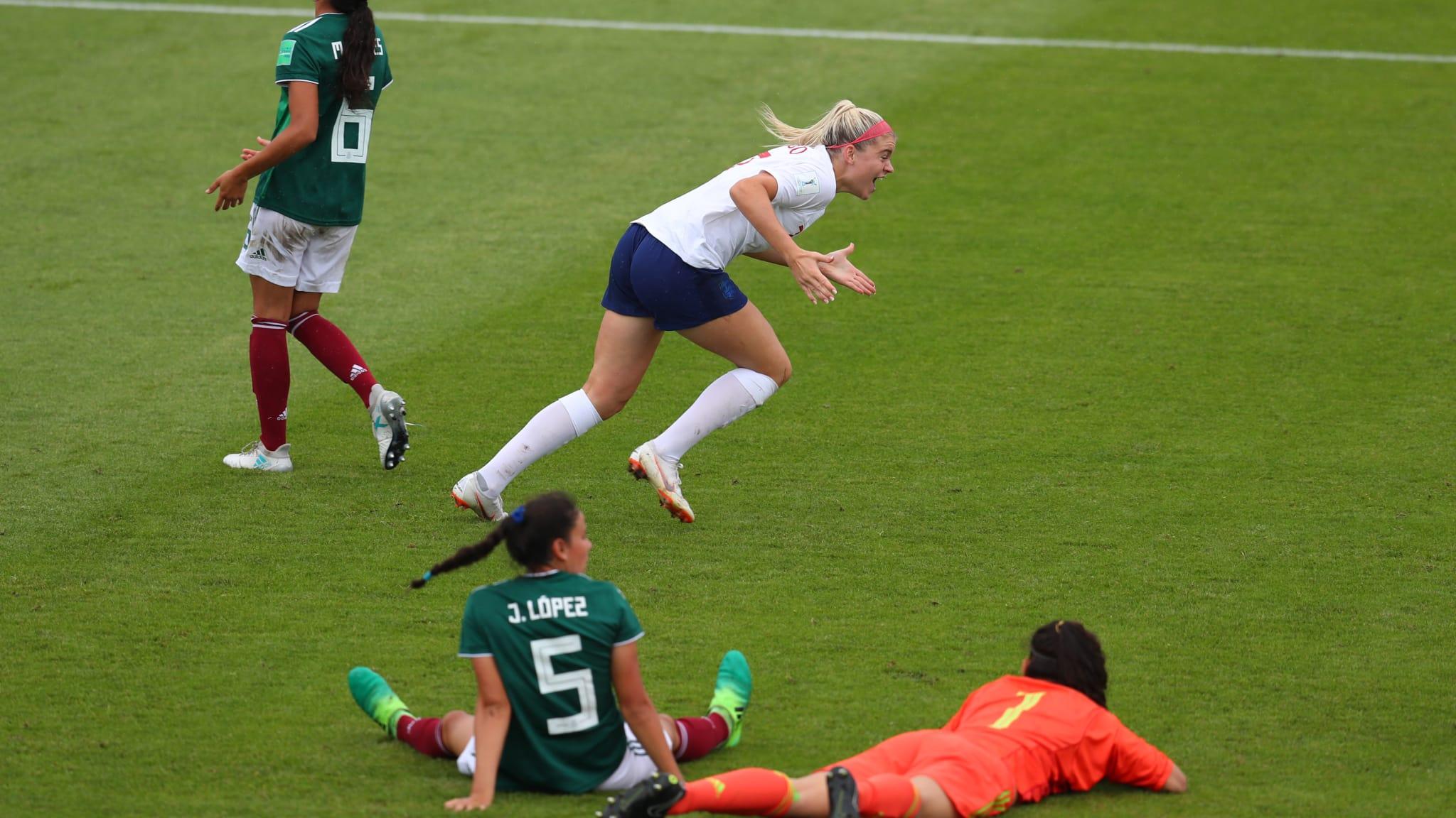 Les Anglaises ont réagi en seconde période (photo FIFA.com)
