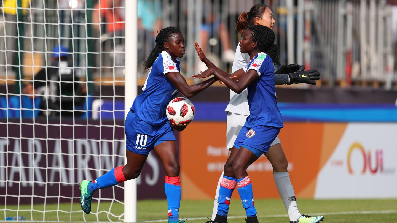 Nerilia aura inscrit 1 but contre la Chine et deux contre l'Allemagne (photo FIFA.com)