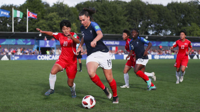 Delabre était de nouveau titulaire en attaque (photo FIFA.com)