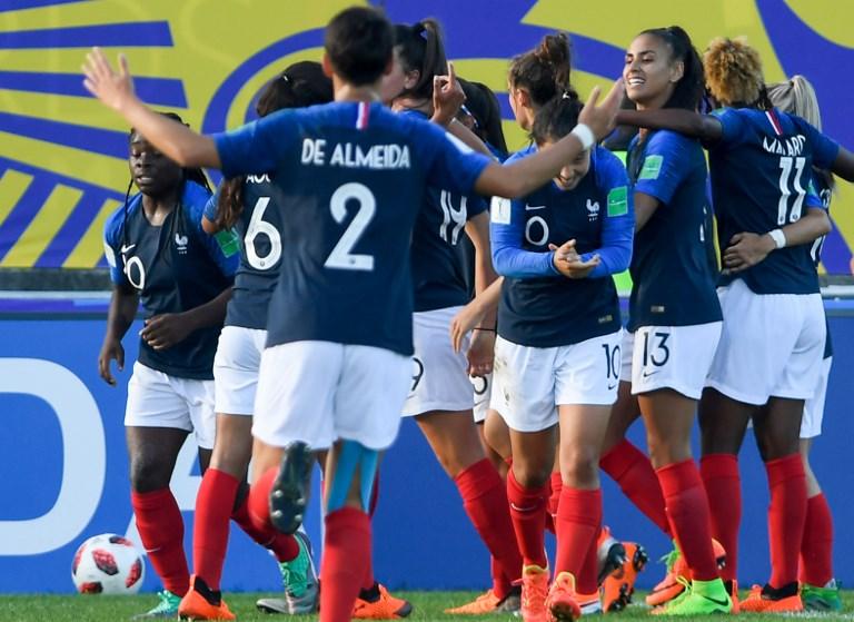 Les Tricolores fêtent la qualification (photo FIFA.com)