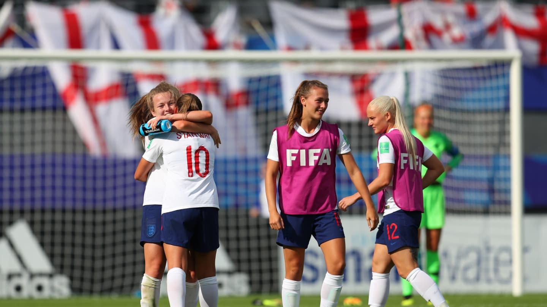 Stanway de dos a signé un doublé décisif en trois minutes (photo FIFA.com)