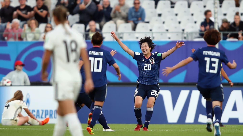 La joie de Jun Endo qui a ouvert le score (photo FIFA.com)