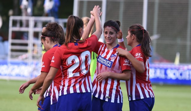 L'Atlético est revenu de loin (photo club)