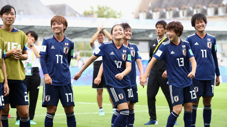 A l'image de Nagano (n°10), le Japon a mené la danse (photo FIFA.com)