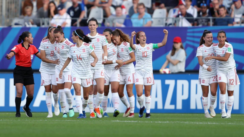 La Rojita a marqué le but victorieux juste après la reprise (photo FIFA.com)