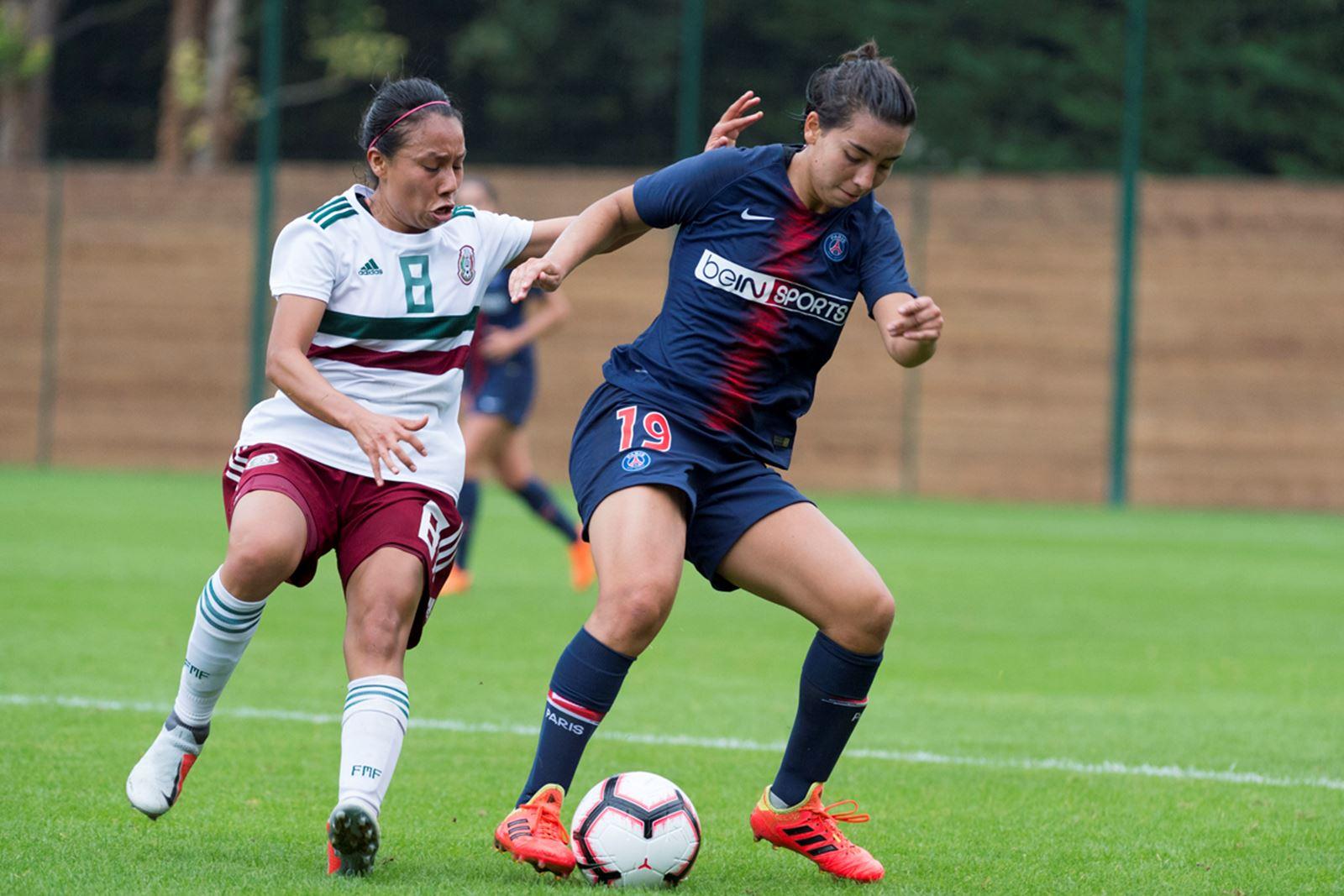 Première pour Zamanian sous le maillot du PSG (photo PSG.fr)