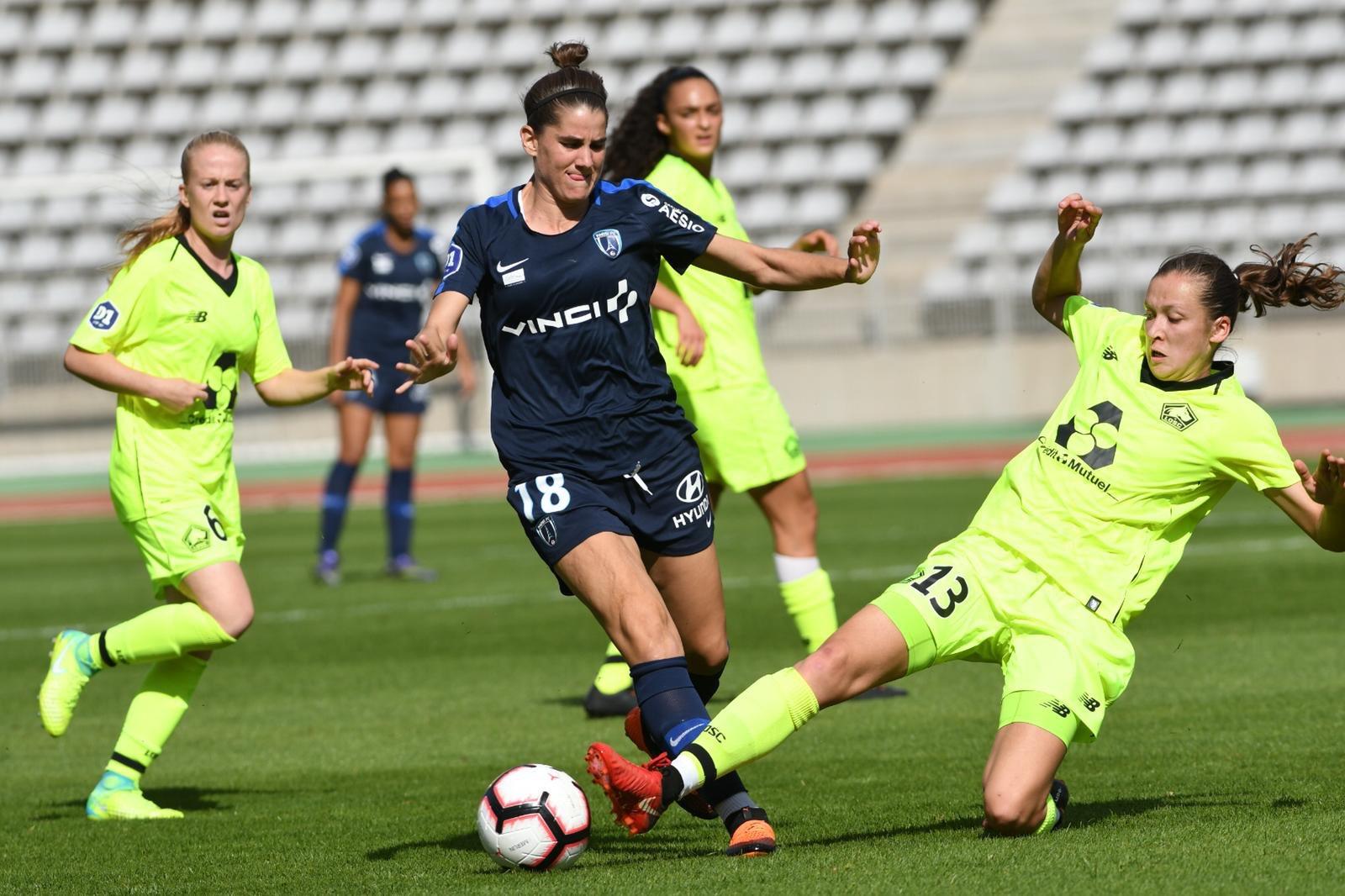 Bilbault et le Paris FC n'ont pas trouvé la faille (photo LOSC)