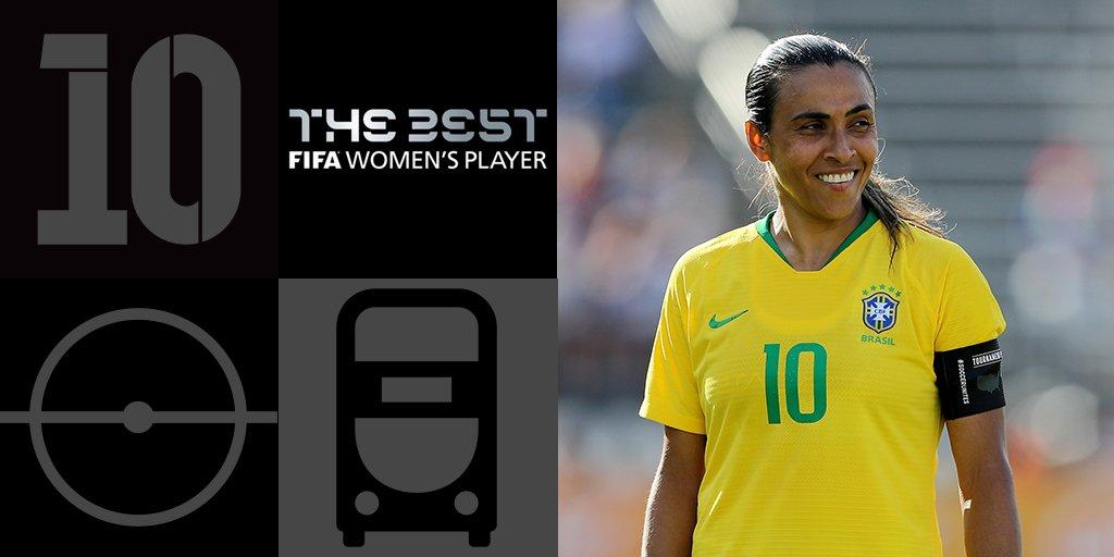 FIFA - PEDROS meilleur entraîneur, MARTA meilleure joueuse