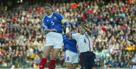 Diacre en 2002 à Geoffroy Guichard (photo L'Equipe)