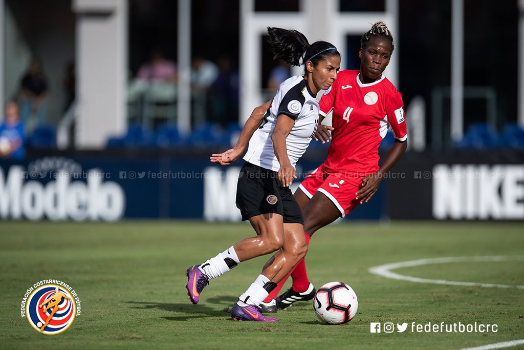 La capitaine du Costa Rica, Shirley Cruz