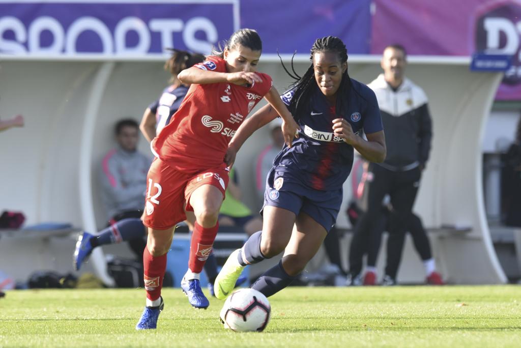 Dali et Dijon réussissent un bon de début de saison derrière le PSG et Katoto (photo Frédérique Grando)
