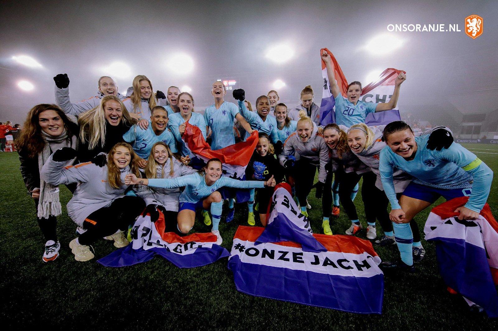 Les Néerlandaises ont assuré après la victoire à l'aller