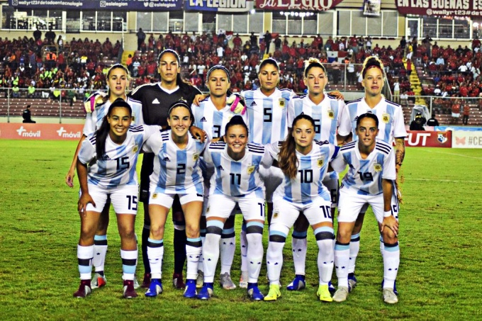 #FIFAWWC  Barrage : l'ARGENTINE douze ans après