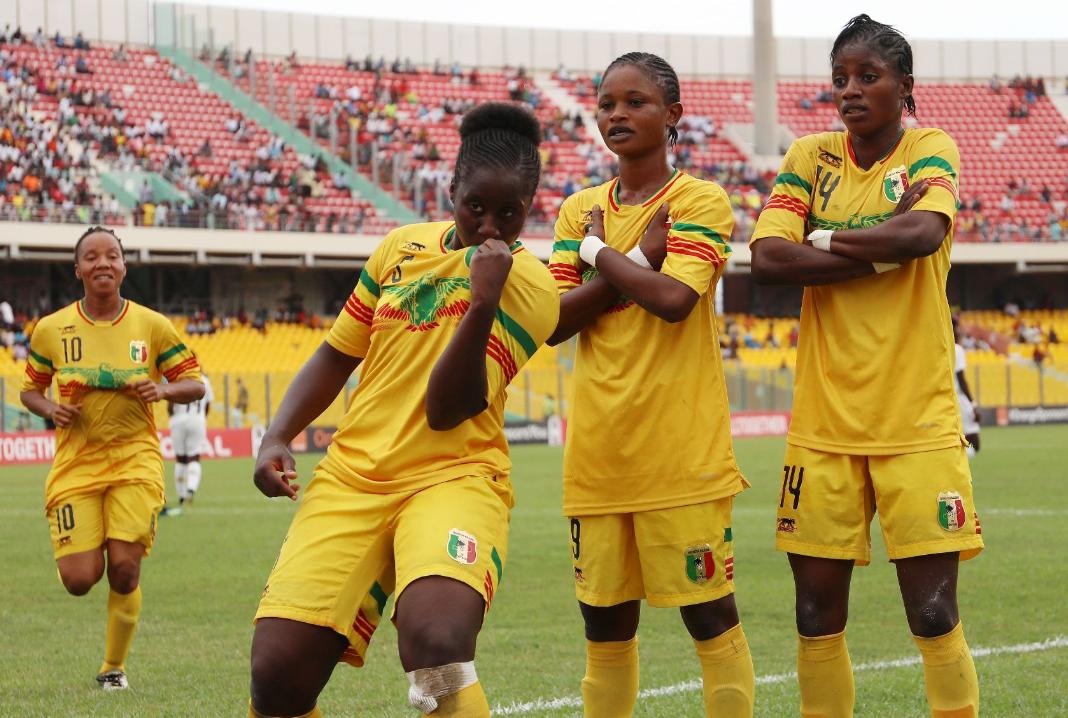 Les Maliennes en course pour les demies