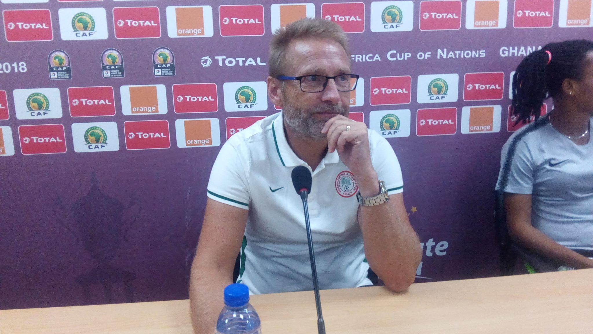 Thomas Dennerby lors de la CAN remportée par le Nigeria