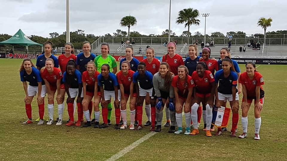 U19 - Nouvelle victoire en Floride dimanche, la Chine ce mardi.