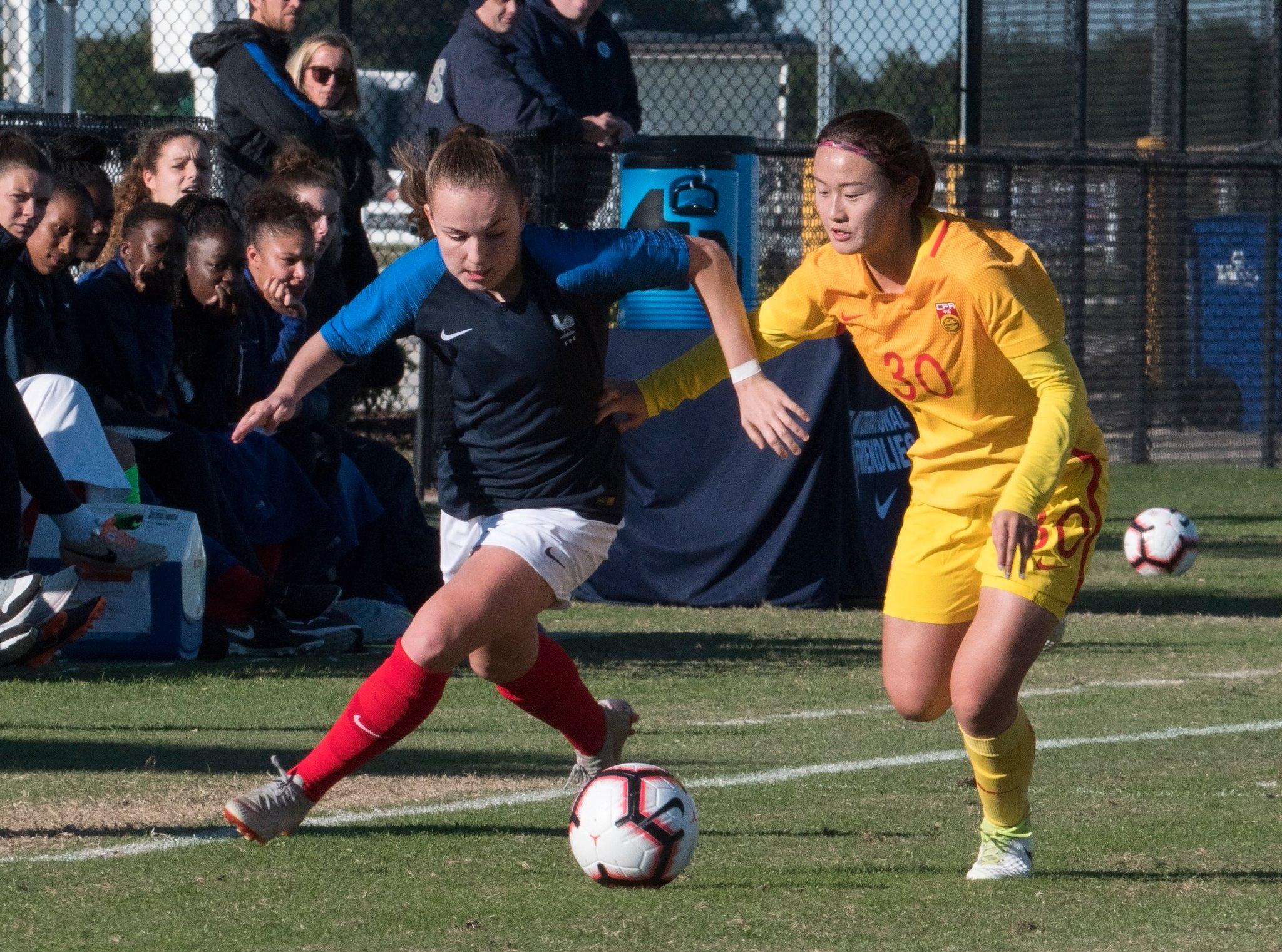 U19 - Trois sur trois pour les Bleuettes