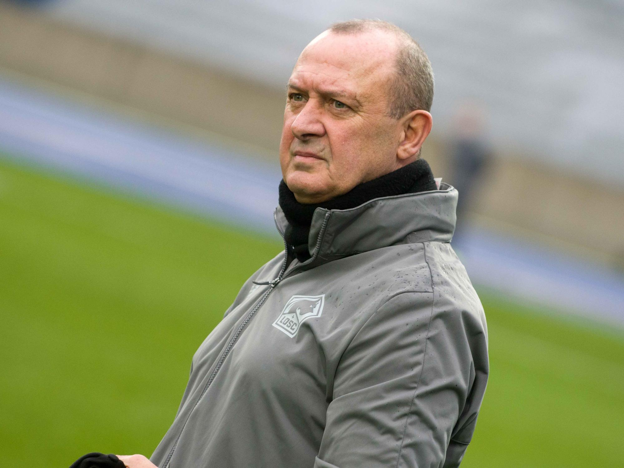 Dominique Carlier était arrivé cette saison au poste d'entraîneur (photo LOSC)