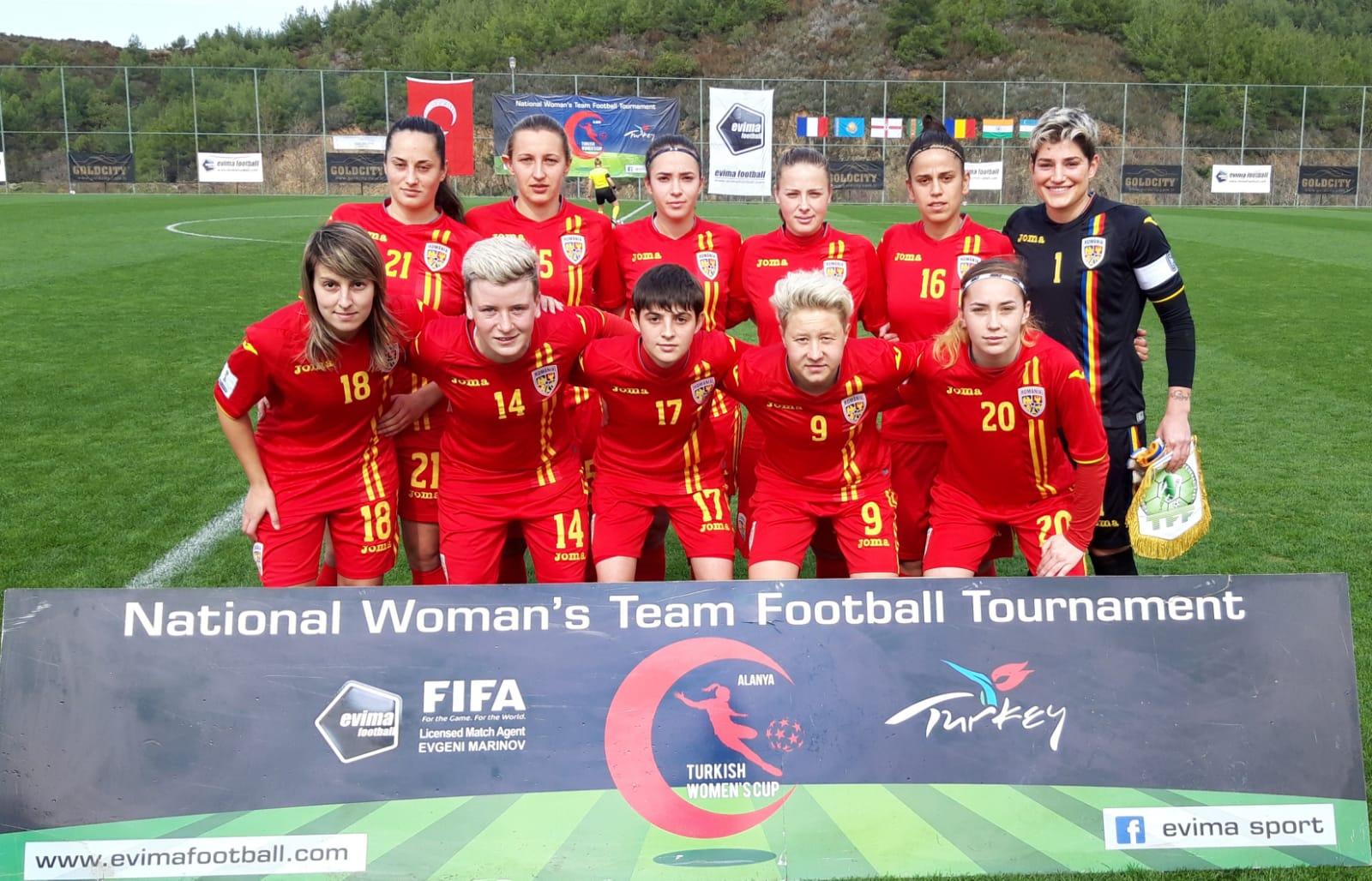 Carton de la Roumanie face au Turkménistan (13-0) !